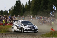 Petter Solberg - Chris Patterson (Ford Fiesta RS WRC) - Neste Oil Rally Finland 2012