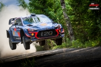 Thierry Neuville - Nicolas Gilsoul (Hyundai i20 Coupe WRC) - Neste Rally Finland 2018