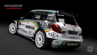 design Emila Trinera na Barum Czech Rally Zl�n 2012