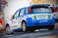 Robert Kořístka - Michal Drozd (Suzuki Ignis S1600) - RallyShow Uherský Brod 2011