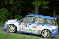 Robert Kořístka - Michal Drozd (Suzuki Ignis S1600) - Autogames Rallysprint Kopná 2012