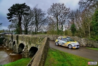 Chris Ingram - Katrin Becker (Opel Adam R2) - Circuit of Ireland 2016