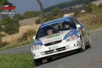 Robert Kořístka - Michal Drozd (Honda Civic Vti) - Horácká Rally Třebíč 2011