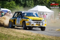 Paul Chieusse - Patrick Chiappe (Renault 5 Turbo) - Star Rally Historic 2015