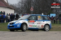 Robert Kořístka - Michal Drozd (Suzuki Ignis S1600) - Rally Vrchovina 2012