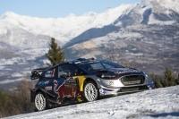 Sebastien Ogier - Julien Ingrassia, Ford Fiesta WRC - RMC 2017 ; foto: Red Bull CP
