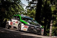 Oliver Solberg - Aaron Johnston (Volkswagen Polo Gti R5) - Rally di Roma Capitale 2020