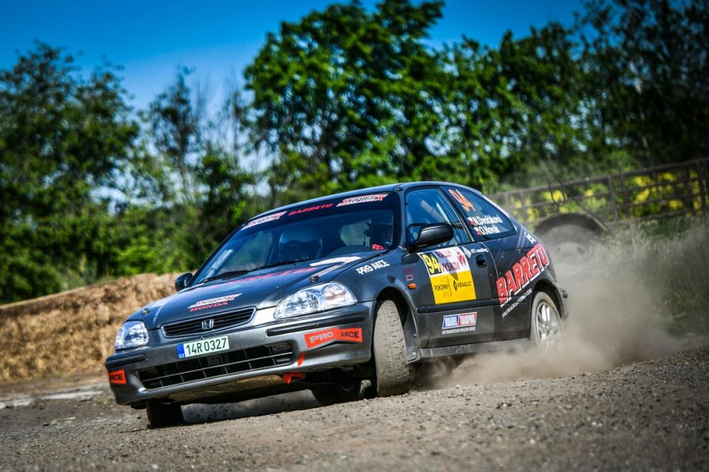 776623074 Nikola Dvořáková - Ondřej Novák (Honda Civic Vti) - Rally Vyškov 2018