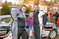 Petr Motz a Jiří Vantuch na PSG Partr Rally Vsetín 2012