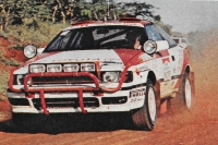 Björn Waldegaard - Fred Gallagher (Toyota Celica GT4) - Safari Rally 1990
